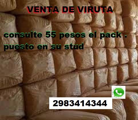 Venta de Pack de Viruta