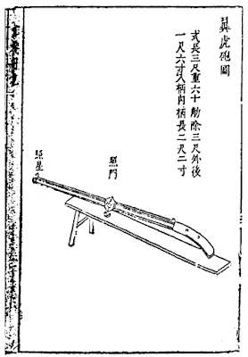 Ming Chinese Winged Tiger Cannon