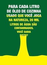 Participe da Campanha de Coleta de óleo de fritura!!!