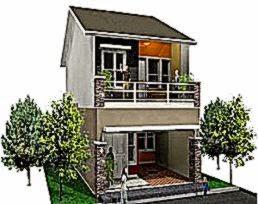 Contoh Rumah Bertingkat Modern