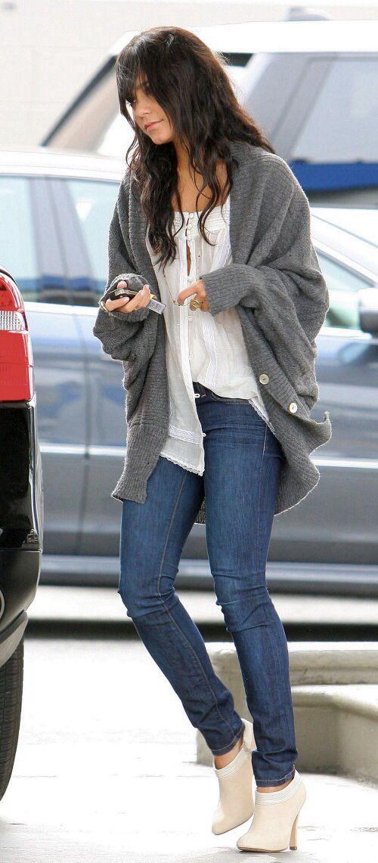 Vanessa Hudgens Gray Sweater 26