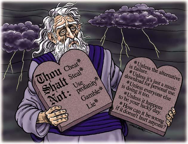 morality is dumb