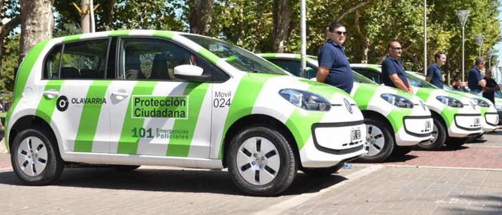 Volkswagen up! - carro de polícia