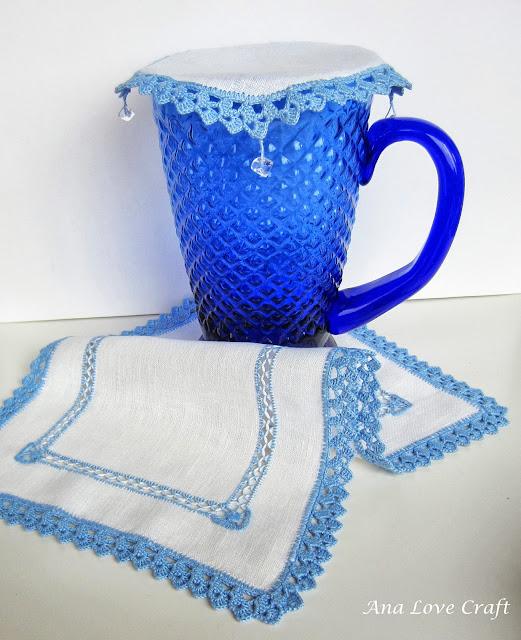 crocheted linen clothes
