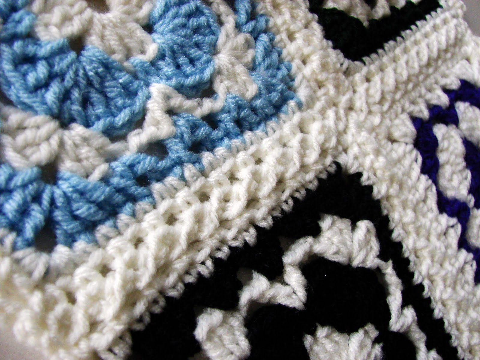 Crochet Stitches To Join Granny Squares : MyHobbyShop: April Crochet Challenge