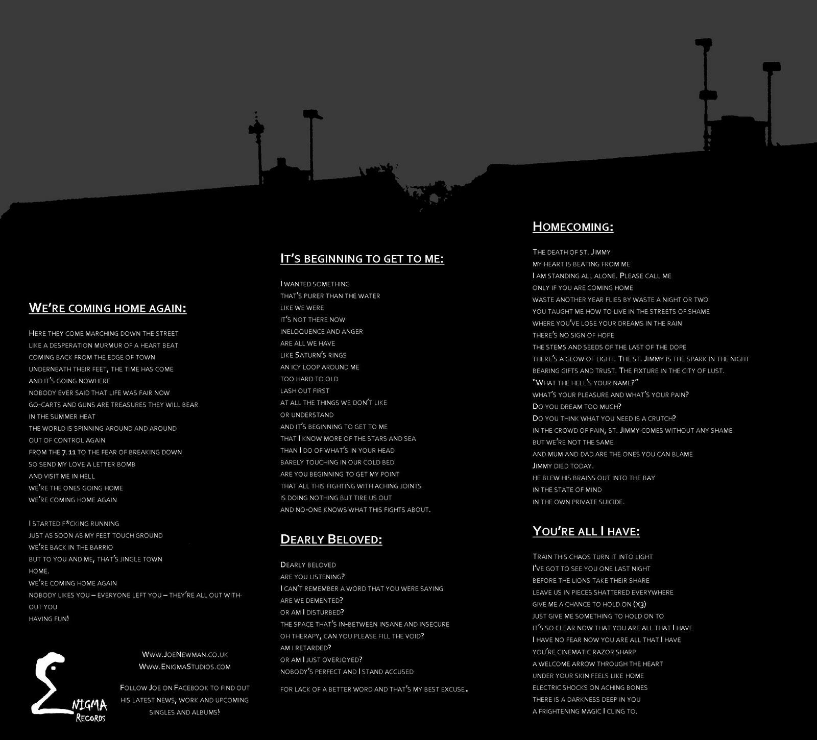 american idiot album lyrics pdf