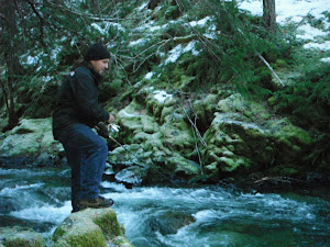 Michael Drevenstedt Fishing on Sucker creek