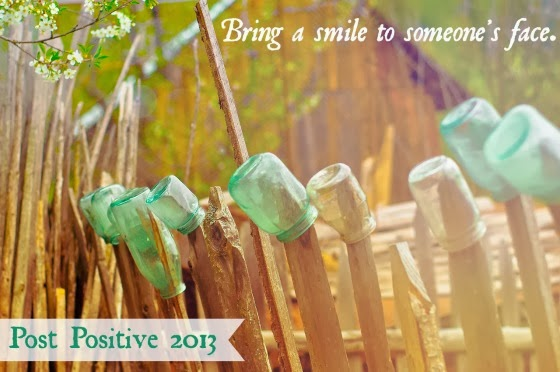 Bring A Smile To Someone's Face Post Positive 2013