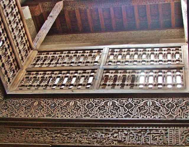 scale in cedro Madrasa di Ali ben Youssef
