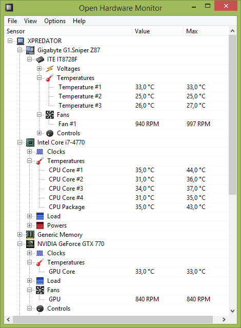 How to check the temperature of your computer