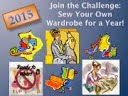 Sew Your Own Wardrobe For A Year Challenge 2015