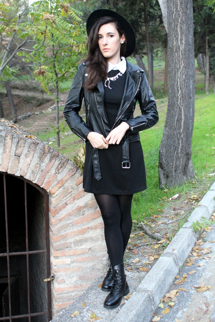 OOTD: Wednesday Addams dress