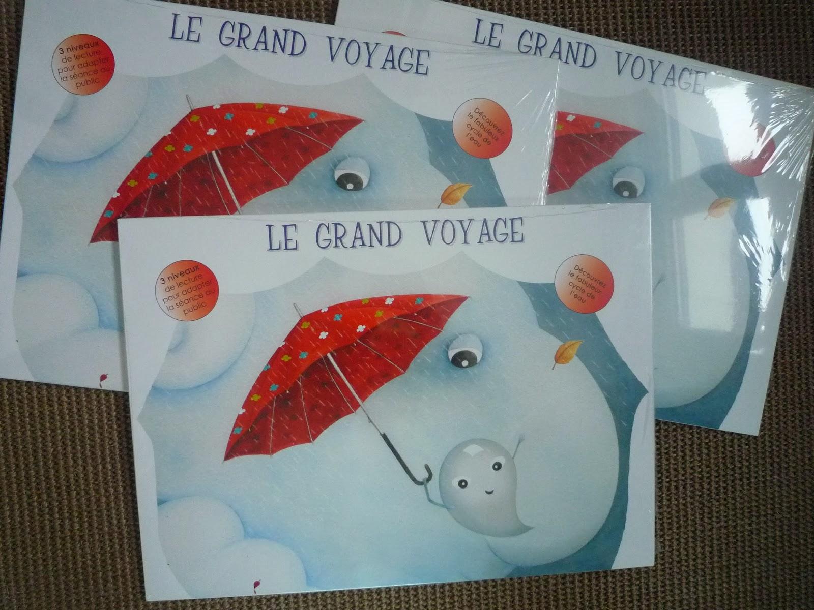 Regine Josephine Mon Kamishibai Du Grand Voyage Est Arrive