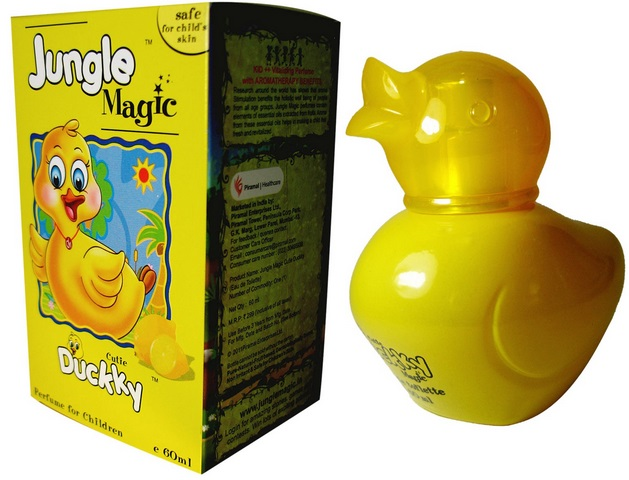 Jungle magic kids perfume duckky lemon flavor