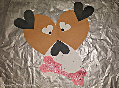 valentines puppy craft for kids