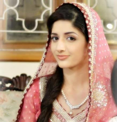 Cute Picture Of Mawra Hocane 2013
