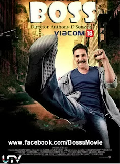 Boss Hindi Movie Poster