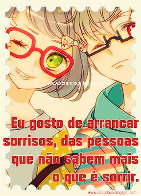 Foto Mensagem de Sorriso/Amizade para Compartilhar no Facebook