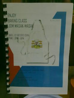 ENJOY BAKING CLASS