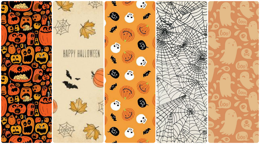 fondo de pantalla whatsapp móvil cellular halloween wallpaper pattern calabraza, fantasma y telarañas con la realidad en los talones fondos iphone gratis