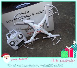 Ohuhu Quadcopter Drone