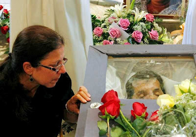 Enterro de Oswaldo Payá.