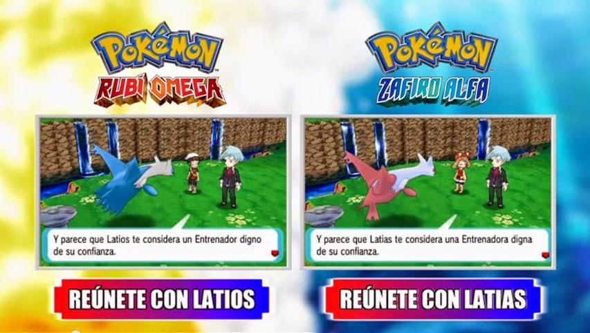 Pokémon Rubí Omega y Zafiro Alfa tráiler de ultravuelo