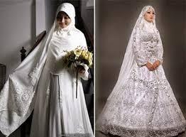 Baju Pengantin untuk muslimah gemuk