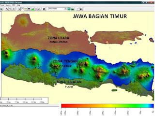 Geomorfologi Jawa Timur