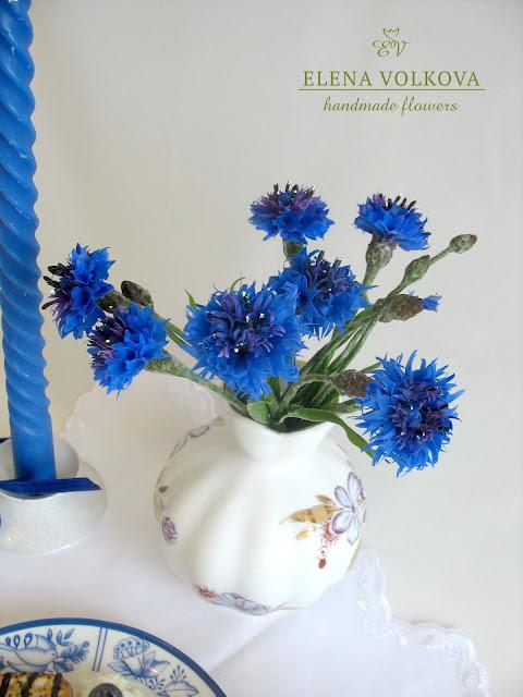 чай из синих цветов