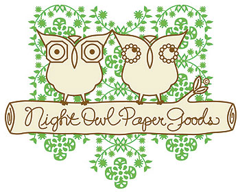 Night Owl Paper Goods Logo
