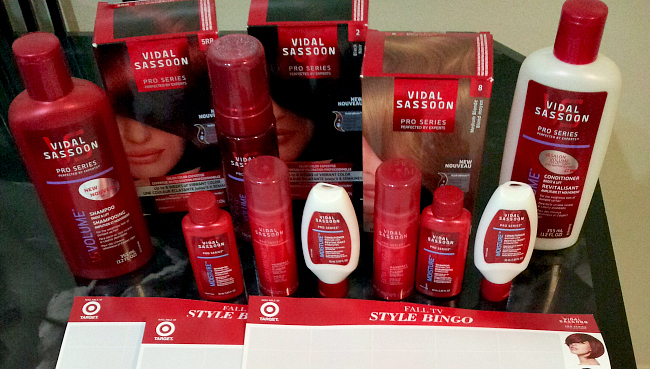 Vidal Sassoon Pro Series Products Available At Target