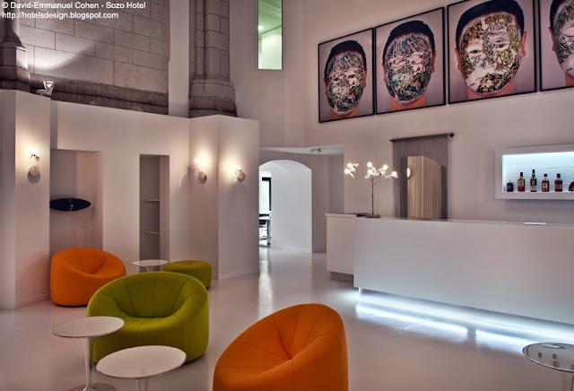 Les plus beaux hotels design du monde sozo hotel by pva for Hotel design nantes