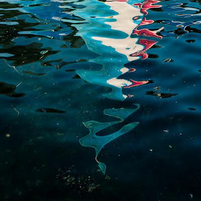 Sail reflections, River Itchen, 2012 © Graham Dew