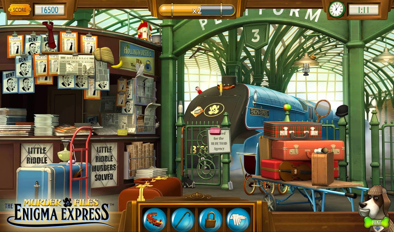 Murder Files: Enigma Express v1.15 Mod [Unlimited Money]