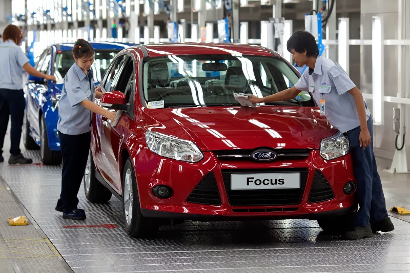 Ford Focus' Double-Digit Growth Improves Lead as Best-Selling Vehicle Nameplate