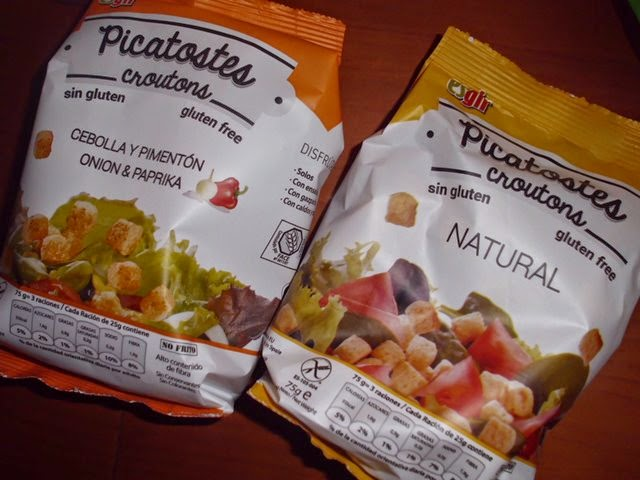 Picatostes Sin Gluten Natural