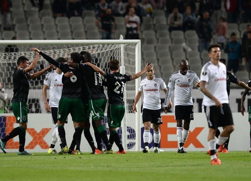 Besiktas 1 x 1 Sporting CP - Europa League 2015/16
