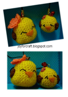 Crochet amigurumi mother's day gift birds yellow cute