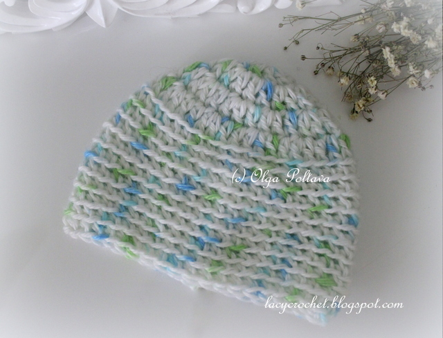 Lacy Crochet: Preemie and Micro Preemie Baby Caps, Free Crochet Pattern