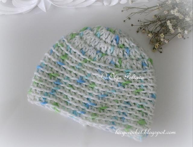 Lacy Crochet Preemie And Micro Preemie Baby Caps Free Crochet Pattern