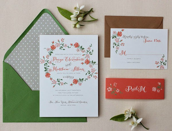 30 Inexpensive and Affordable Wedding Invitations Samples that