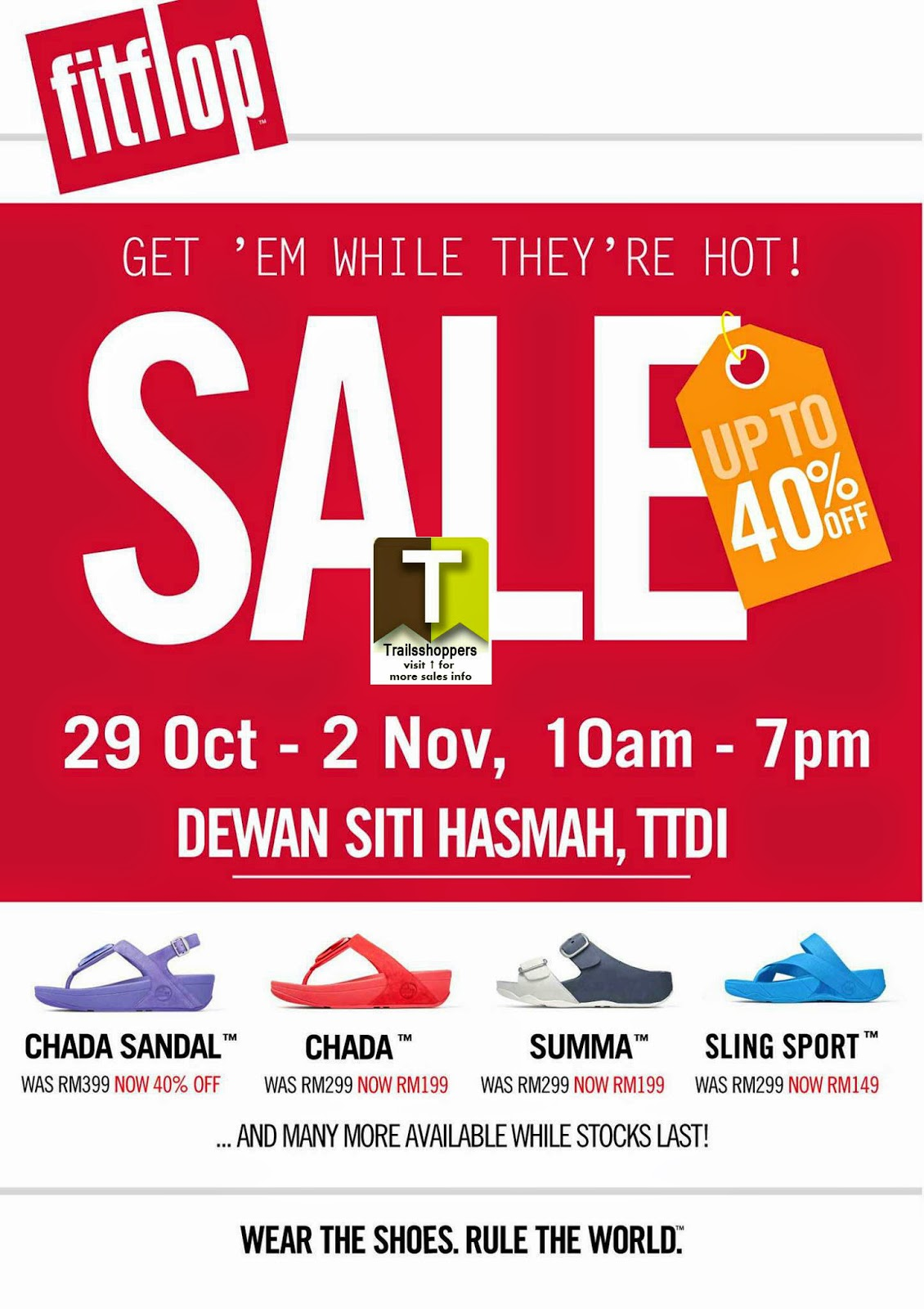 FitFlop Big Sale offer ttdi taman tun dr ismail