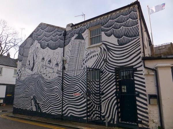 Londres London Notting Hill street urban art