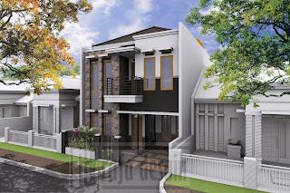Desain Rumah Kost Kelapa Gading Desain Rumah Art Deco 3 Lantai Jakarta