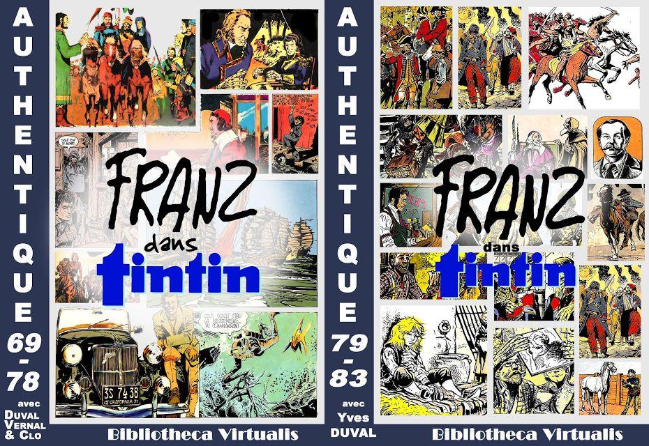FRANZ dans Tintin. Authentique 1969 - 1982 (Franz - Duval - Vernal) Bibliotheca Virtualis.