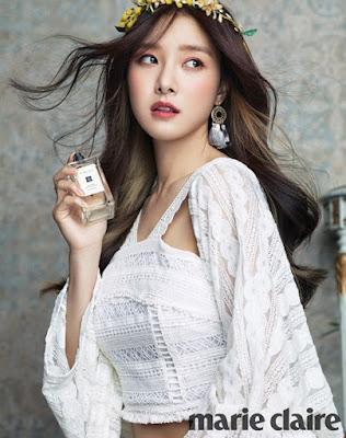 Kim So Eun Marie Claire October 2015
