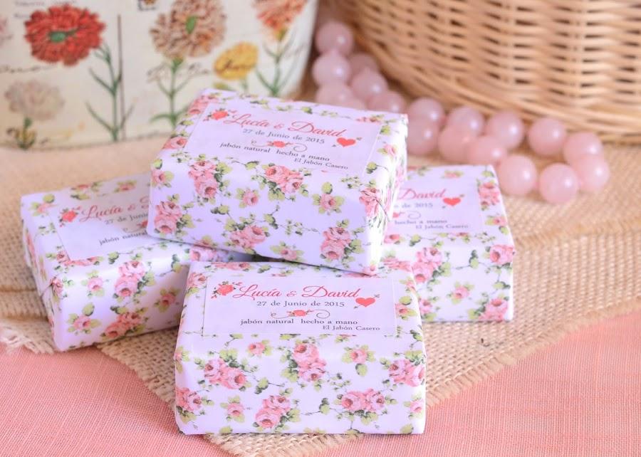 detalles naturales para bodas romanticas jabones personalizados