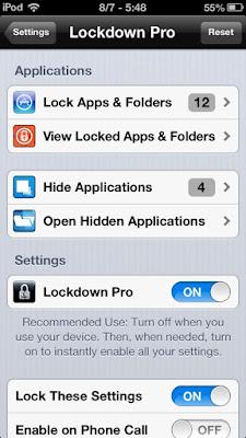 Lockdown Pro Cydia App