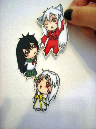 Figuras Anime en papel. 284297_10150262340819819_213182229818_7273997_4950612_n